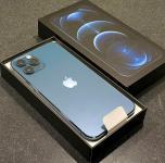 Apple iPhone 12 Pro 128GB = 500euro, iPhone 12 Pro Max 128GB = 550euro