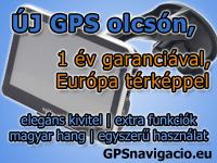 GPS navigci sok extrval  garancival 